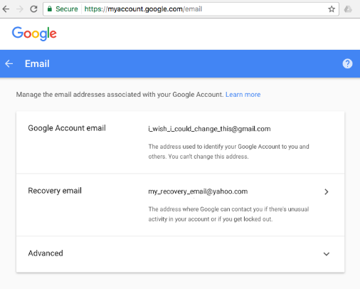 Solved How To Change Your Gmail Address